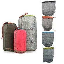 1 шт., нейлоновый ультра-светильник, сетчатый мешок для хранения, сумка для путешествий, кемпинга, пеших прогулок, сумка на шнурке, сумки для пикника