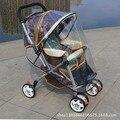 Carrinho de bebê Capa de Chuva de Plástico Universal Poeira Vento Escudo Com o Windows Para Carrinhos Carrinhos Carrinho De Criança Acessórios YD140