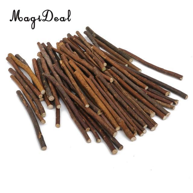 Magideal 1 zak buxus natuurlijke houten stok tak voor diy for Achat branche bois
