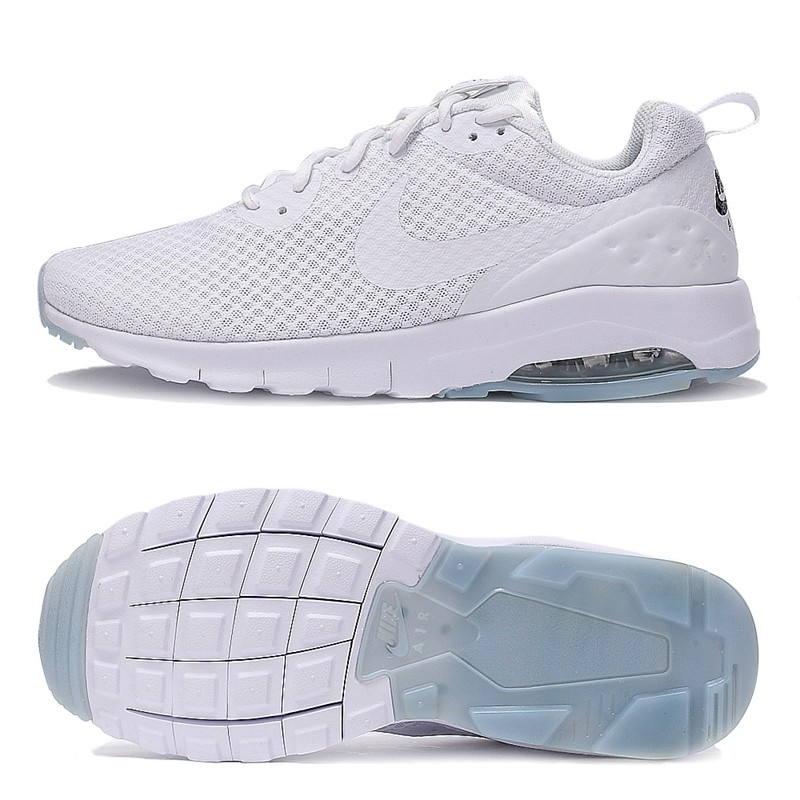 3fc11242f6 Original Authentic NIKE Breathable AIR MAX MOTION LW Men's Running Shoes  Sneakers White Blue Comfortable Low top Durable Classic-in Running Shoes  from ...