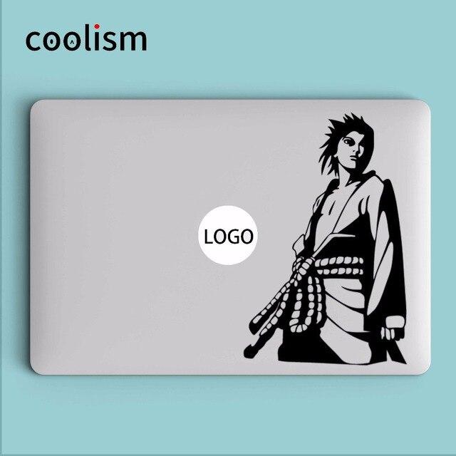 Sasuke orochimaru keren laptop sticker untuk macbook pro retina decal air 11 12 13 15 inch