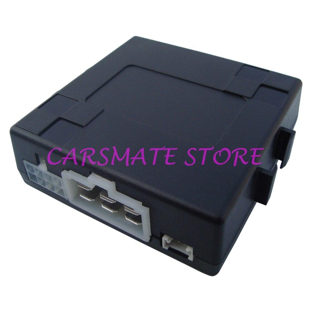 Système d'arrêt de démarrage de moteur de voiture intelligent avec bouton poussoir de grande taille Compatible avec la fonction de démarrage à distance d'alarme de voiture d'origine - 2