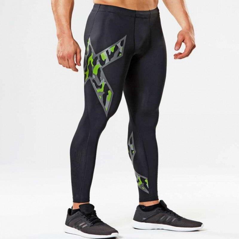 Men Compression Tight Long Pants Black Trousers Joggers Trousers Emoji Joggers Emoji Slim Fit Mallas Hombre Fitness Pant