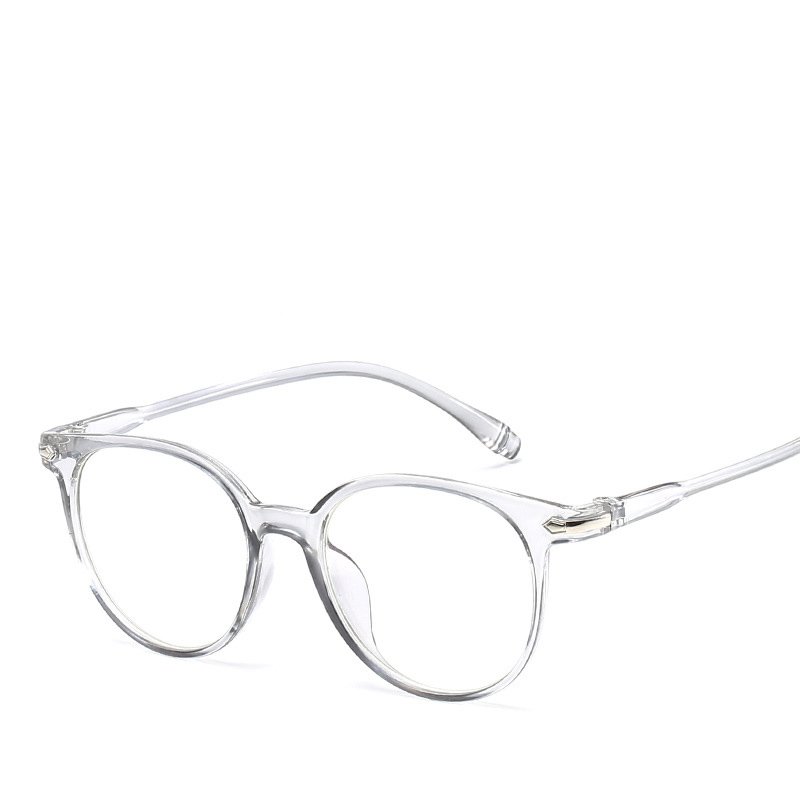 2018 Fashion Women Glasses Frame Men Eyeglasses Frame Vintage Round Clear Lens Glasses Optical Spectacle Frame HA-45