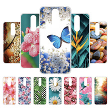 Painted Phone Cases For Alcatel 3 2019 Case Silicone Soft TPU Back Cover 5053Y 5053D 5053K 5.94 Bumper Bags