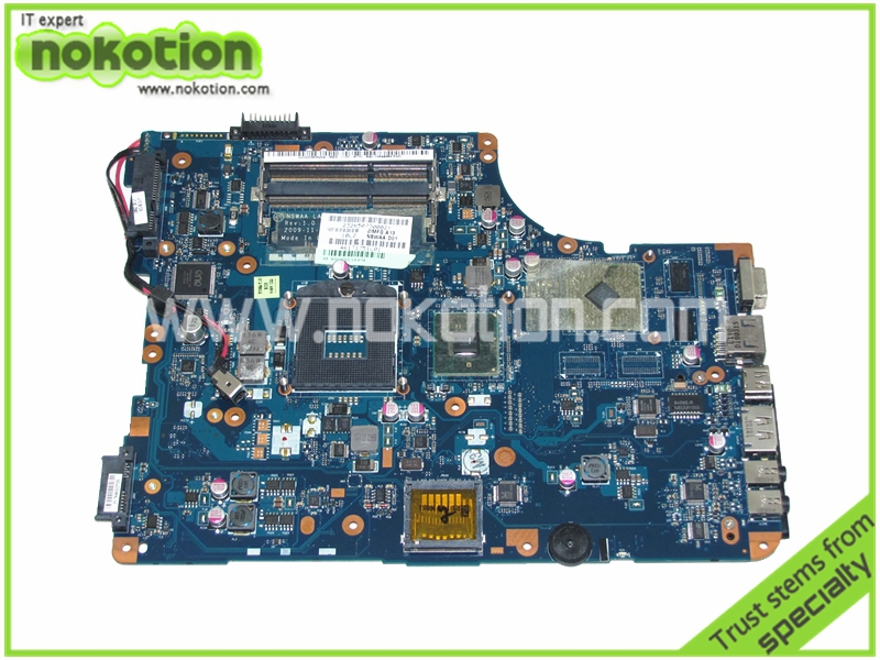 NOKOTION   LA-5322P K000092520 for Toshiba Satellite L500 A505 Laptop Motherboard HD4500 DDR3 Mainboard Full Tested nokotion for toshiba satellite c850d c855d laptop motherboard hd 7520g ddr3 mainboard 1310a2492002 sps v000275280
