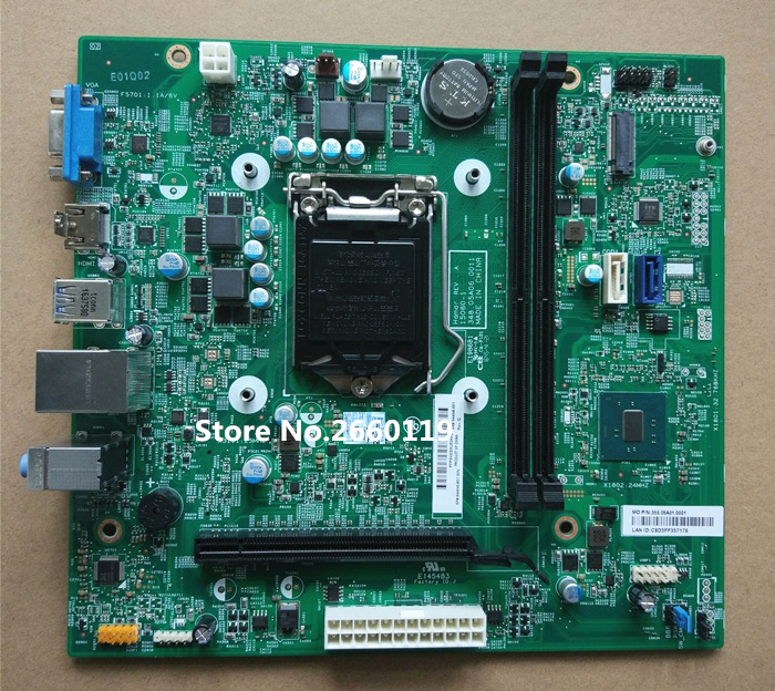 High quality desktop motherboard for 844848-601 844848-001 Fully tested