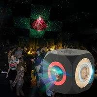 Disco Party Stage Light Club USB TF Card DJ Laser Bluetooth Music Speaker Laser Music Box