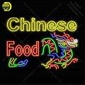 Китайская пищевая неоновая вывеска неоновая лампа вывеска стеклянная трубка отель неоновые огни комната отдыха пивная знаковая вывеска ре...