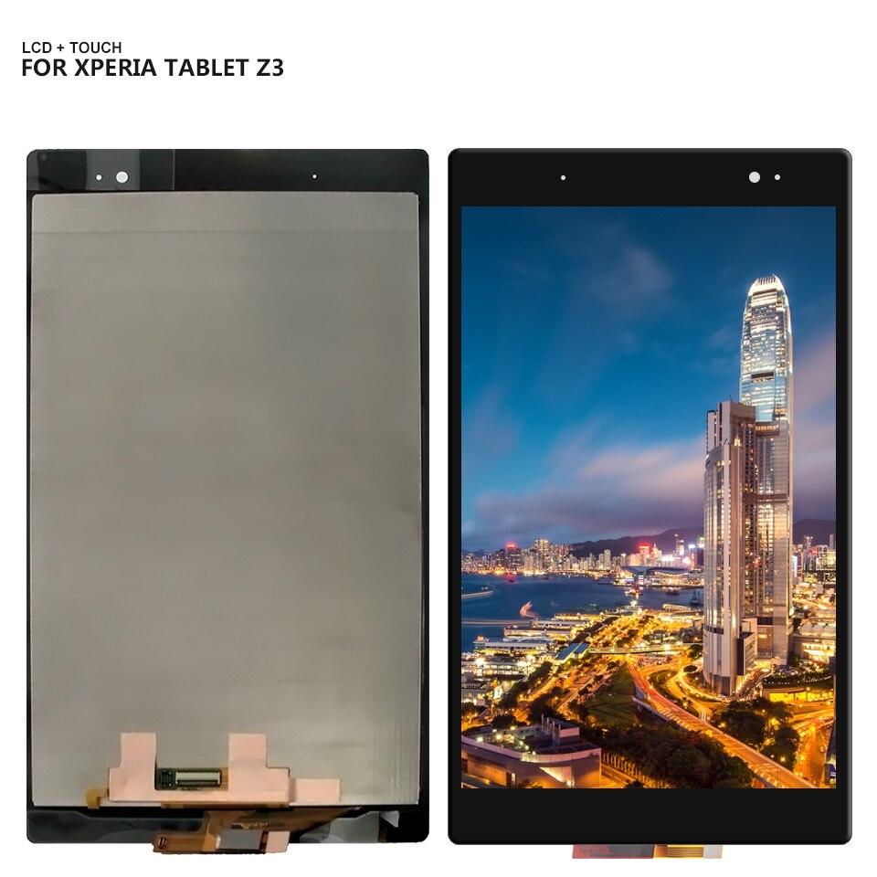 Pour Sony Xperia Tablet Z3 SGP611 SGP612 SGP621 Écran Tactile Digitizer Lcd Assemblée D'affichage Remplacement + Outils