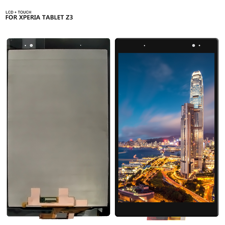 สำหรับ Sony Xperia Tablet Z3 SGP611 SGP612 SGP621 Touch Screen Digitizer จอแสดงผล LCD + เครื่องมือ-ใน LCD แท็บเล็ตและแผง จาก คอมพิวเตอร์และออฟฟิศ บน title=