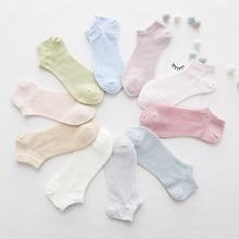 summer mesh boat socks female Non-slip Low Cut Socks womens cotton section breathable short sock stopki skarpetki damskie