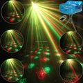 Mini R&G Remote 6 Christmas Patterns Laser Projector Club Bar Coffee Shop Dance Disco Party Xmas DJ Effect Light Show+ Tripod R6