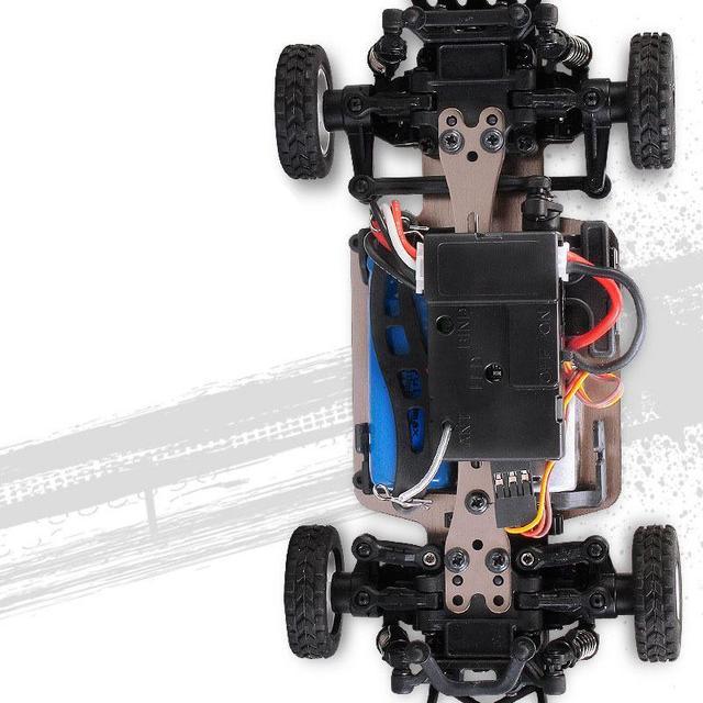 LeadingStar Wltoys K989 1/28 2.4G 4WD brossé RC télécommande voiture de rallye RTR avec émetteur