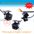 170 Degree Angle Night Vision Color LED Sensor Car Rear Camera Reverse View Parking Camera Free Shipping