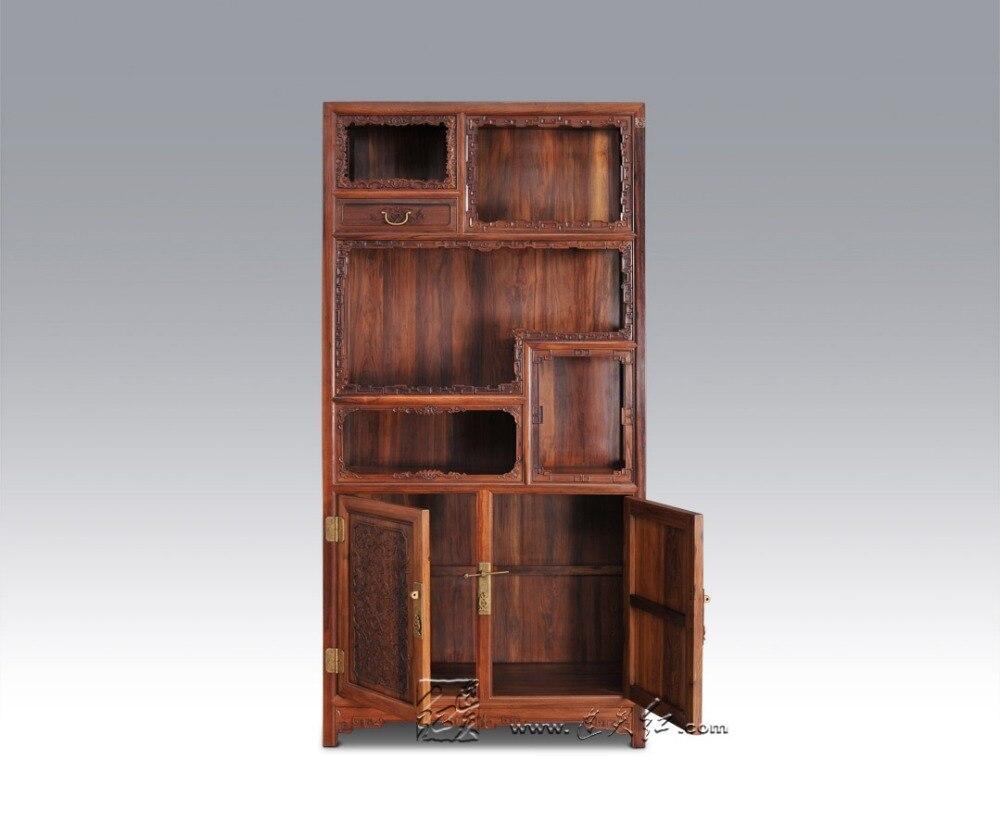 En Bois Massif Stockage Biblioth Que Salon Bureau Classeurs  # Classeur De Salon En Bois