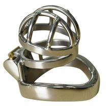 Prison Bird Male Stainless Steel Cock Cage Chastity Device for Male Penis Exercise Restraint Men Bondage Sex Toy цена