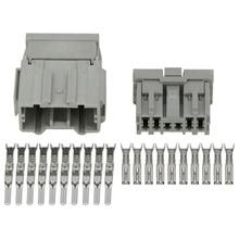 где купить 10 pin Automotive Connectors 2.2 Series Automotive Male and Female Plug with Terminal DJ7106-2.2-11/21 10P дешево