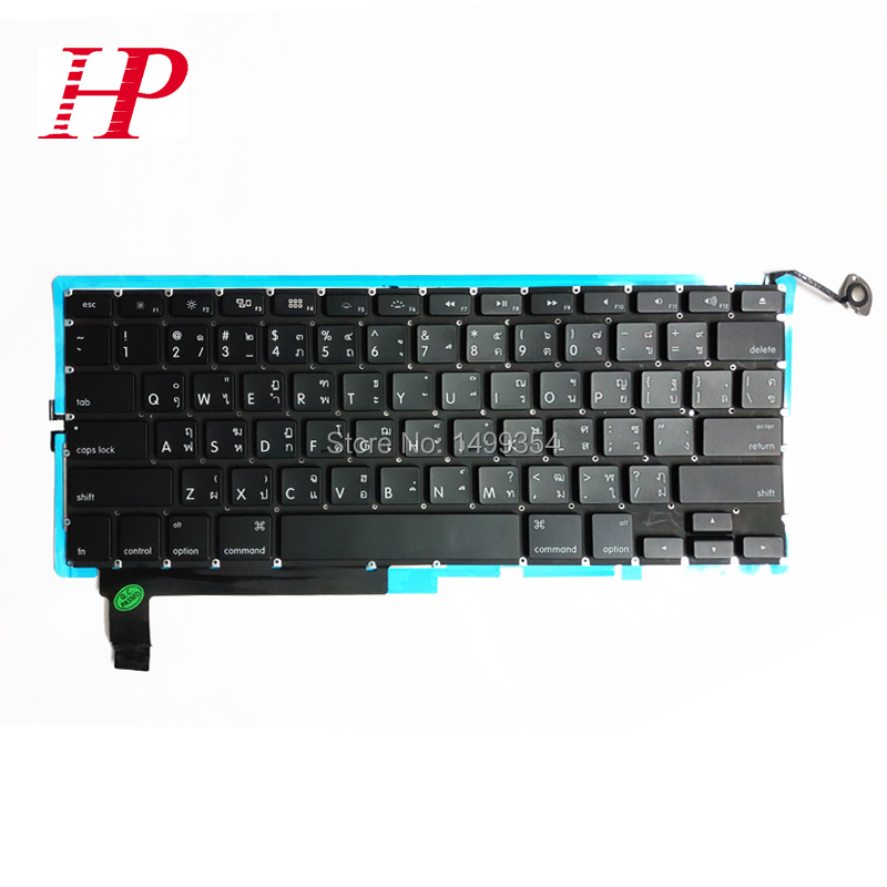 """New&Original Quality Thailand Keyboard For Apple Macbook Pro 15 inch"""" A1286 Thai With Backlight 2009-2012 inch"""