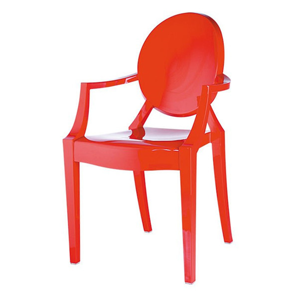 Stacking Philippe Starck Style chair plastic material designer chair