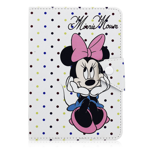 """Universal Case For 9.7 10 10.1 inch Tablet PC Cartoon Leather Flip Stand Cover For iPad 2 3 4 9.7 inch Samsung Tab A 2 3 10.1"""""""
