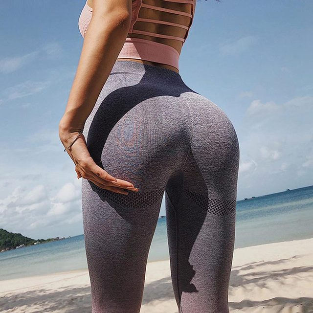 63b0a4c0b9957 Home > Energy Seamless Leggings High Waist Yoga Pants Workout Gym Leggings  Scrunch Butt leggings Gradient Sport Yoga Leggings. Previous