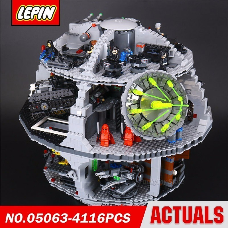Lepin 05063 Death Star 75159 Star Series Wars Model Building Block Brick Kits Compatible Assembling Gift Toys new lepin 22001 pirate ship imperial warships model building kits block briks toys gift 1717pcs