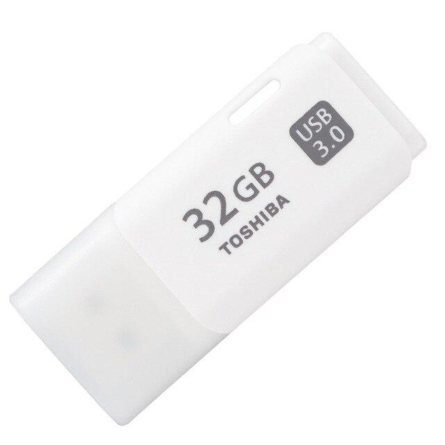 100% Original TOSHIBA USB Flash Drive USB3.0 16GB 32GB 64GB Flash Disk U301 Real Capacity Plastic Memory Pendrive