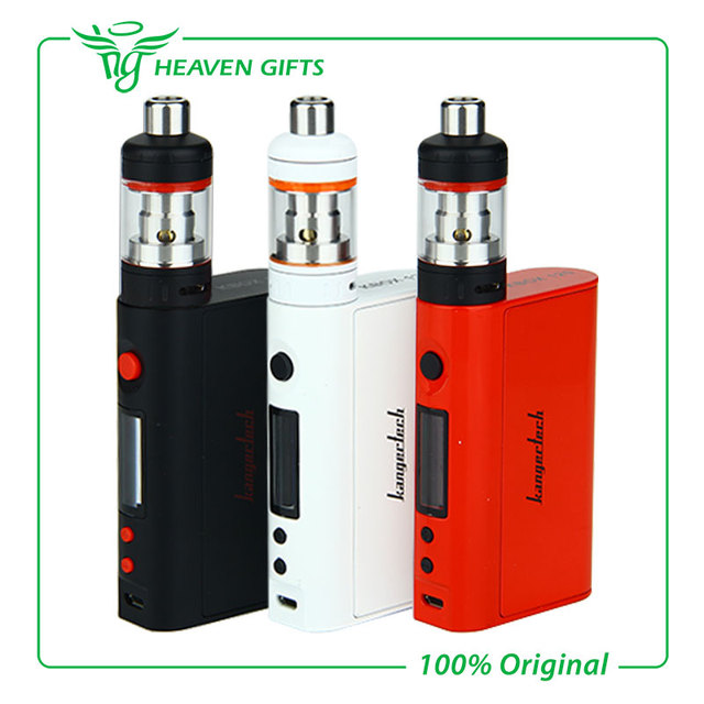New Arrival Kanger Kit with 120W Kangertech KBOX TC Mod and 2.5ml Capacity Vaporesso TARGET Pro Tank E-cigs Kit without Battery