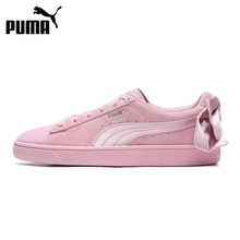 Original New Arrival 2019 PUMA Suede Bow Galaxy Women's Skateboarding S