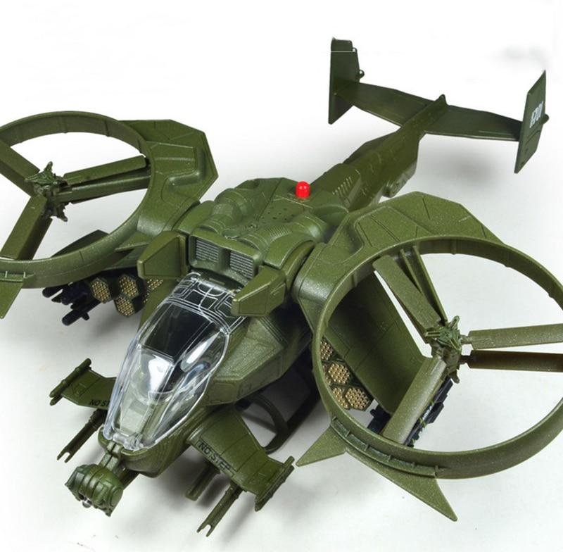 Toys regalos colecciones muestra aleación diecast avatar scorpion helicópteros m