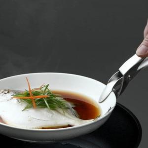 Image 2 - Le plus récent HUOHOU Anti chaud Anti brûlure Pot bol casserole bol pince batterie de cuisine cuisson pique nique bras de suspension transporteur poignée pince