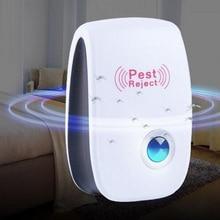 Ультразвуковой электронный Противомоскитный репеллент, бытовой репеллент от насекомых, репеллент от тараканов, подавитель тараканов