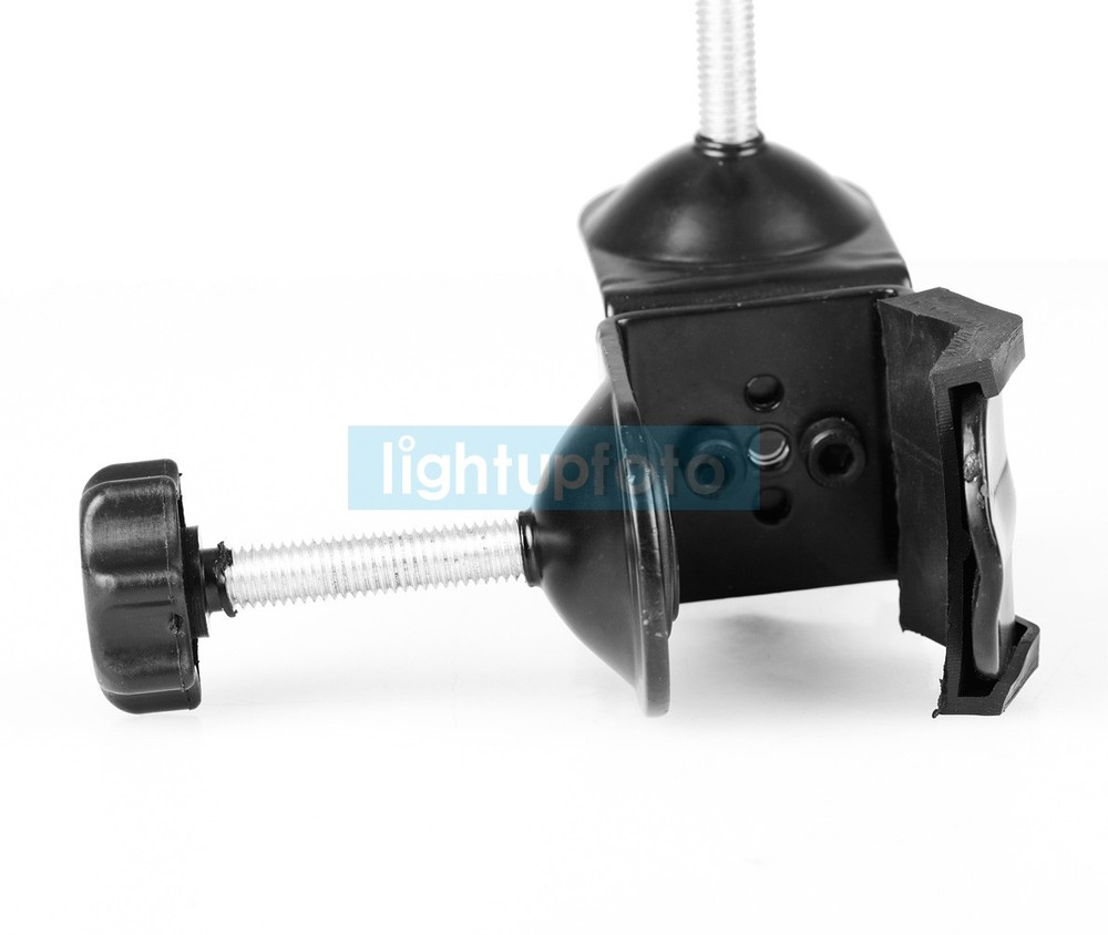 Lightupfoto Photo Quick Release Screw Double C-Clamp for Boom Arm & Light Stand Studio Accrssories PSA7D