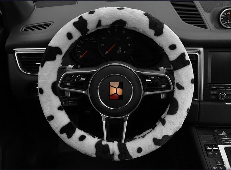 Car Styling Күзгі Қысқы Сүт Сиыр Басып - Автокөліктің ішкі керек-жарақтары - фото 4