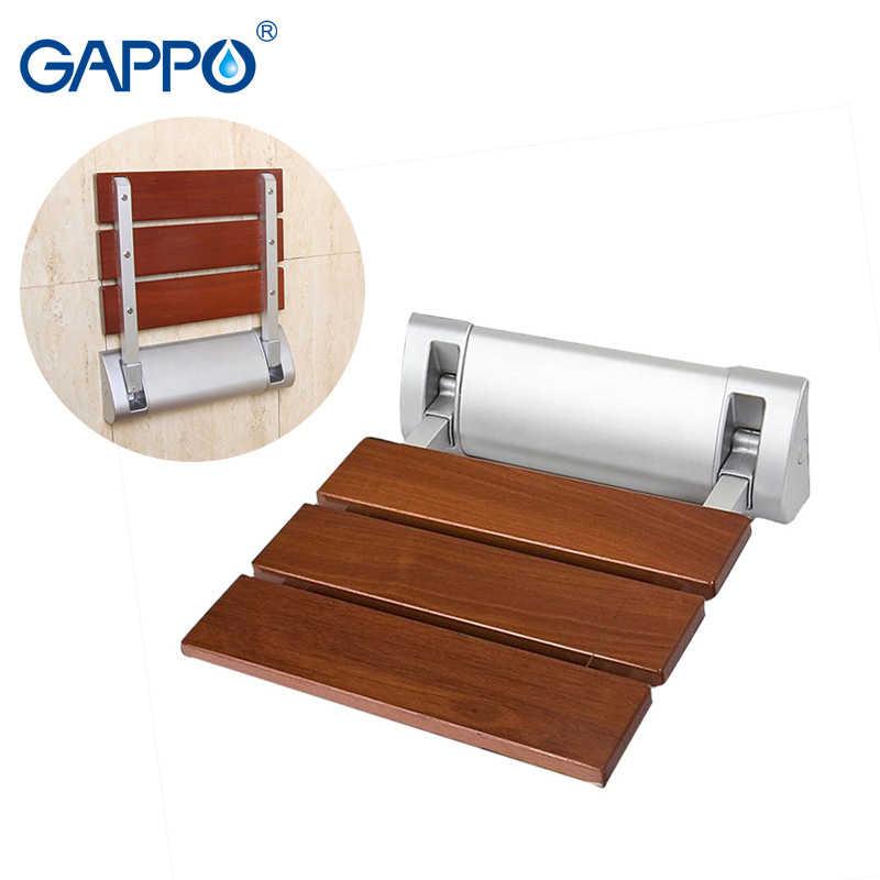 GAPPO Assentos Do Chuveiro Montado Na Parede do banheiro cadeira dobrável cadeira para crianças cadeiras dobráveis cadeira de banho de chuveiro assento de banho com duche