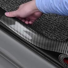 5D Carbon Fiber oor Sill Protector for Opel Antara Astra K J H G Crossland X Grandland X Insignia Mokka X Signum