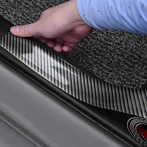 Image 1 - 5D Carbon Fiber oor Sill Protector for Opel Antara Astra K J H G Crossland X Grandland X Insignia Mokka X Signum