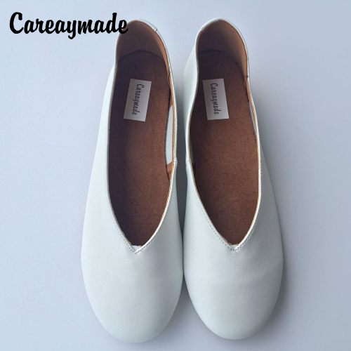 Careaymade-Women Leisure Shoes 2018 Spring and Autumn Full new Hot Sale Leather pointed end Flats casual Retro Shoes,4colors kbstyle 2017 new spring shoes for women brand pointed toe womens flats fashion young ladies casual shoes hot sale wholesale