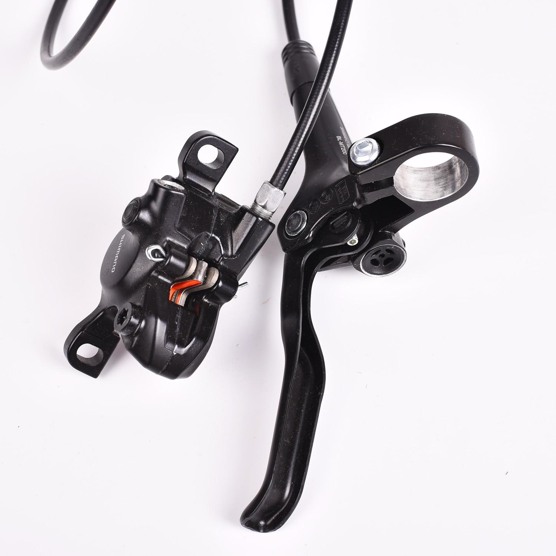 Shimano Deore M6000 Disc Brake Mountain Bike MTB Front Rear 750//1400 MTB Black