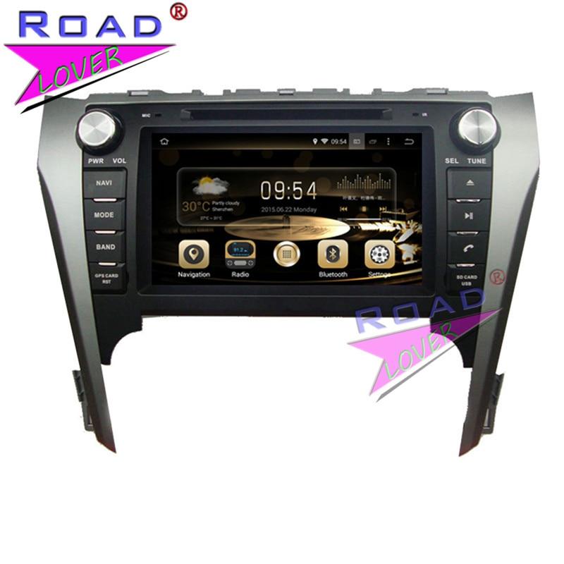 TOPNAVI Octa Core 4G+32GB Android 6.0 Car Media Center DVD Player Auto Audio For Toyota Camry 2012- Stereo GPS Navi Capacitive