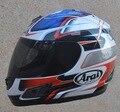 Dani pedrosa arai rx-7 rr5 casco de la cara llena de la motocicleta moto moto off road dirt bike motocross cascos vespa del retroceso