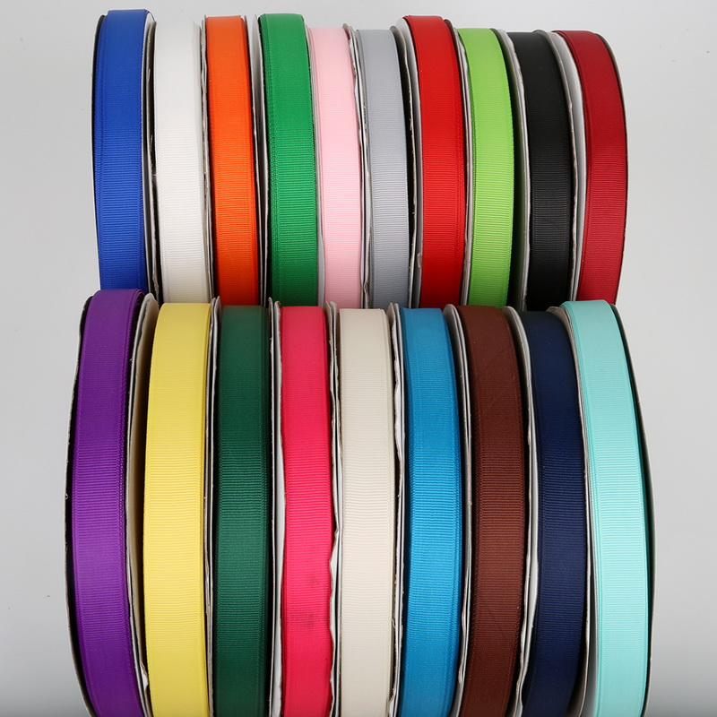 HTB1ry9DeQ5E3KVjSZFCq6zuzXXaT 5Yards/Roll Grosgrain Satin Ribbons for Wedding Christmas Party Decorations DIY Bow Craft Ribbons Card Gifts Wrapping Supplies