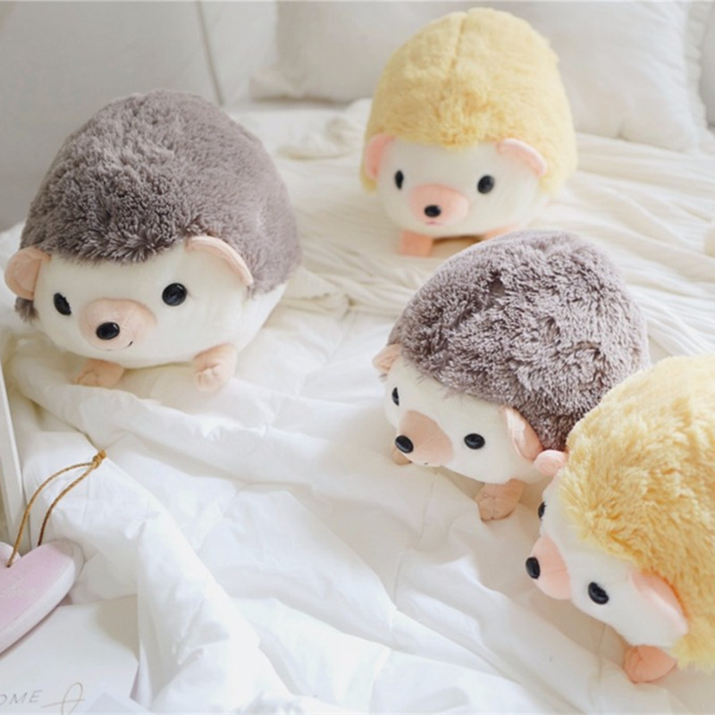 New Arrival  Cute Cartoon Plush Hedgehog Dolls Soft Cotton Stuffed Kawaii Hedgehog Plush Baby Toys Birthday Gifts For Kids