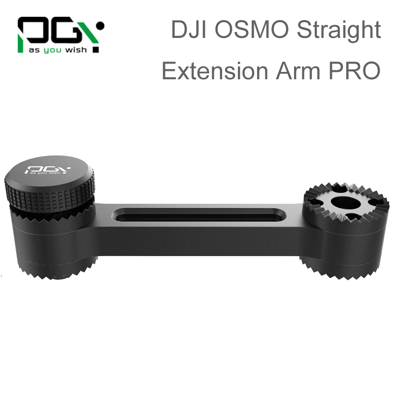 PGY DJI OSMO X3 X5 accessories Straight Extension Arm PRO Handheld 4K Stabilizer drone Original 3