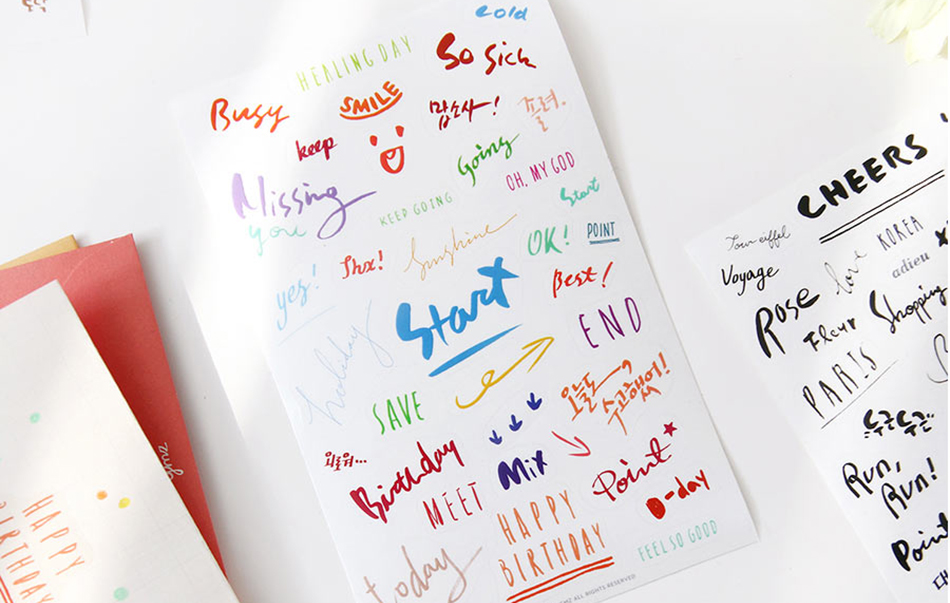 8 pros детские каваи наклейки дневник наклейки планировщик наклейки/же/papeleria/отменяет товаров бесплатная доставка