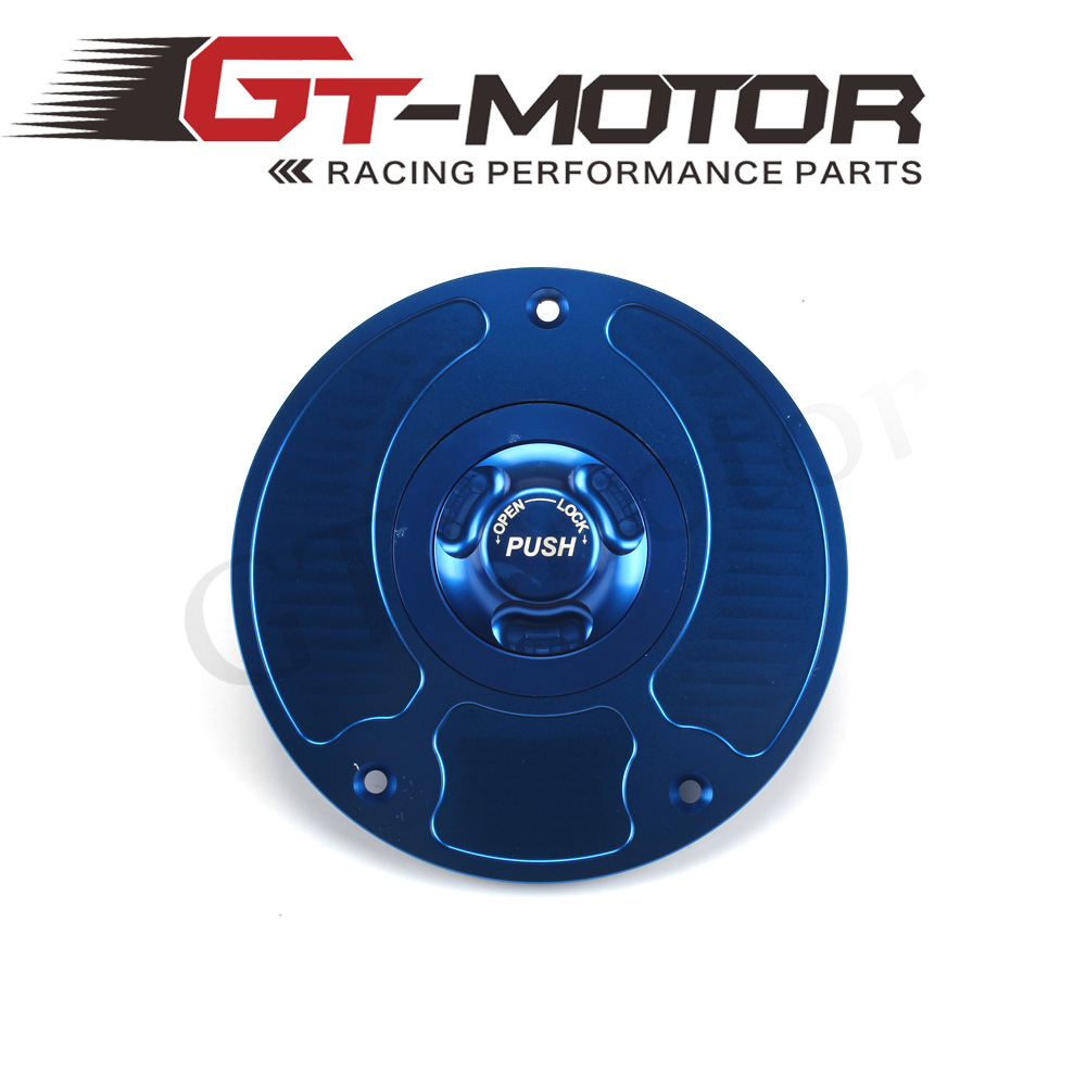 GT Motor - Motorcycle CNC Aluminum Fuel Gas CAPS Tank Cap tanks Cover With Rapid Locking For HONDA CB1000R CB900F 919 Hornet 900