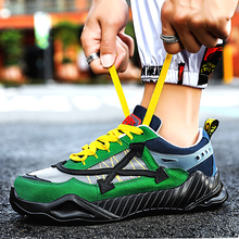 купить Hot Sale Man Sports Trainers Summer Autumn Mens Best Running Shoes Rubber Non-Slip Gym Outdoor Men Shoes Designer Brand Sneakers дешево