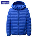 2017 Winter Jacket Boys Girls Down Coat White Duck Down Padded Hooded Kids Down Jackets Children Warm Outerwear Coats 4 Color