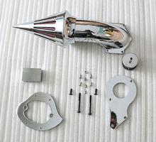 Motorrad Chrome Spike Luftfilter kits Luftfilter Für Honda Shadow VLX 600 1999 2012 Moto